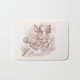 Jackalope Bunny Bath Mat