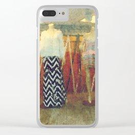 Fashion Sense Clear iPhone Case