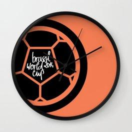 Brazil World Cup 2014 - Poster n°2 Wall Clock