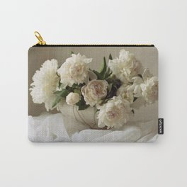 Garden peonies for Justine - wedding bouquet photography Carry-All Pouch