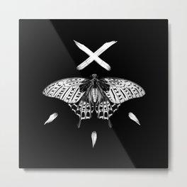 butterfly x Metal Print