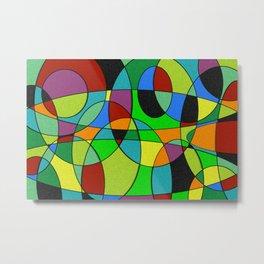 Abstract #309 Metal Print