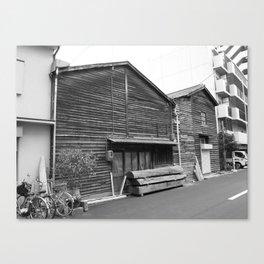 Osaka woodwork Canvas Print