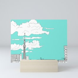 Tokyo Sky Tree Mini Art Print