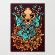 Sphynx Cat Canvas Print