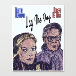 Wag the Dog Canvas Print