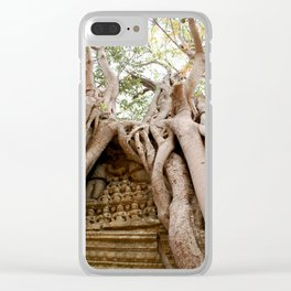 Nature and Man in Cambodia Clear iPhone Case