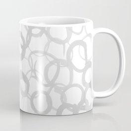 Watercolor Circle Gray Coffee Mug