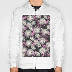 Abstract Poppy Pattern II Hoody