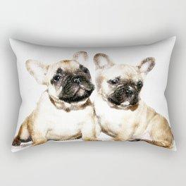 French Bulldogs Rectangular Pillow
