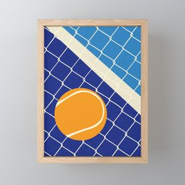 Matchball Framed Mini Art Print