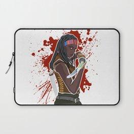 Michonne (The Walking Dead) Laptop Sleeve