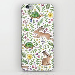Spring Time Tortoises and Hares iPhone Skin