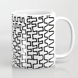 Square Points Coffee Mug