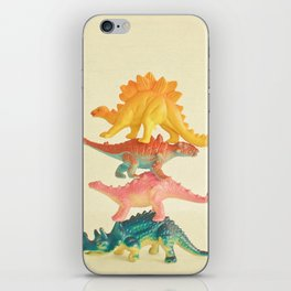 Dinosaur Antics iPhone Skin