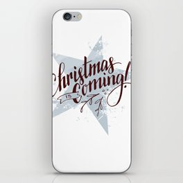 Christmas is Coming! iPhone Skin