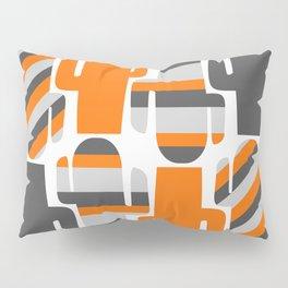Modern striped cacti Pillow Sham