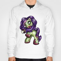 my little pony Hoodies featuring Zombie My Little Pony by Hungry Designs