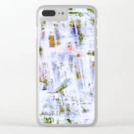 The Grunge Edit Invert Clear iPhone Case