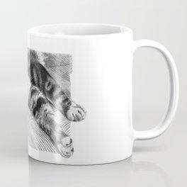 Resting Kitty G064 Coffee Mug
