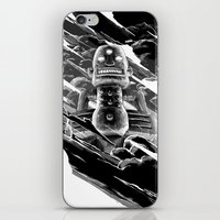 totem iPhone & iPod Skins featuring Totem by A P Schofield fine arts