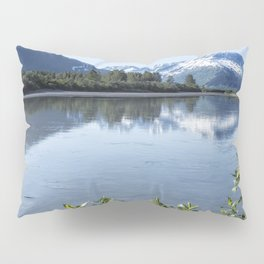 Placer River at the Bend in Turnagain Arm, No. 1 Pillow Sham