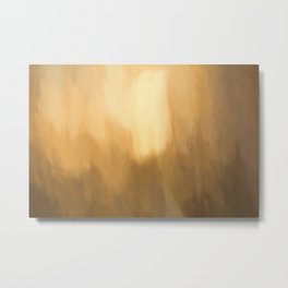 Abstract Beige Shades. Like painted on canvas. Metal Print