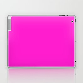 From The Crayon Box – Purple Pizza - Bright Pink Purple Solid Color Laptop & iPad Skin