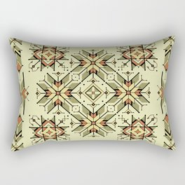 equilibrium | boho pattern Rectangular Pillow