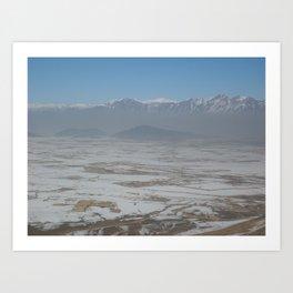 Plains of Afghanistan Art Print