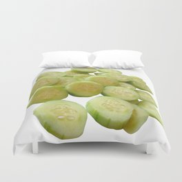 Cucumber Quarters Duvet Cover