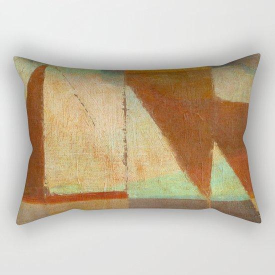 Tramonto Nel Porto Rectangular Pillow
