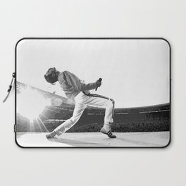 Freddie of Queen at Wembley 1986 Illustration Laptop Sleeve