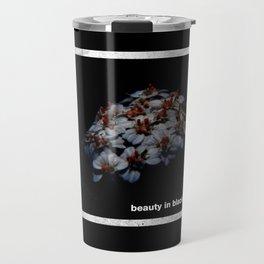 Beauty In Black Travel Mug