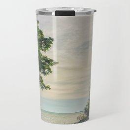 Road side beach Travel Mug