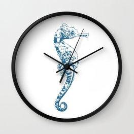 Cape Seahorse Wall Clock