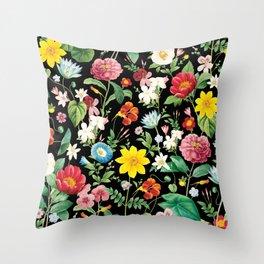 Mum's garden Throw Pillow