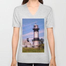 Shrove Lighthouse Unisex V-Neck