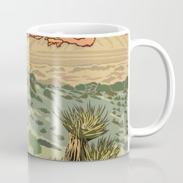 Vintage Poster - Red Rock Canyon National Conservation Area, Nevada (2015) Coffee Mug