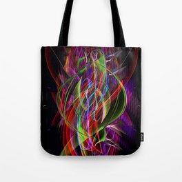 Art Deco Swirl Tote Bag