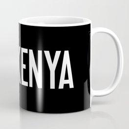 Kenya: Kenyan Flag & Kenya Coffee Mug