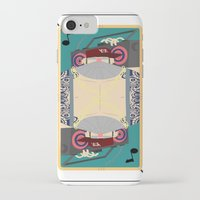 rap iPhone & iPod Cases featuring rap king by Red Monkey
