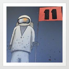 Google's Space | Apollo Art Print