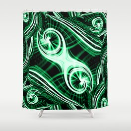Emerald Eyes Shower Curtain