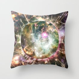 """""""Subliminal"""" by Brock Springstead Throw Pillow"""