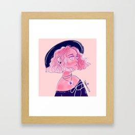 EDNA, the witch Framed Art Print