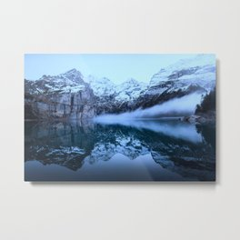 Icelandic Lake (cool) Metal Print