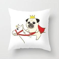 Prince Fu Fu Throw Pillow