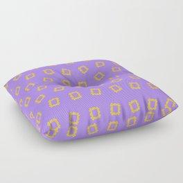 Yellow Frame - Friends. Floor Pillow