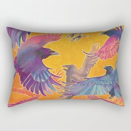 Make Way for the Raven King Rectangular Pillow